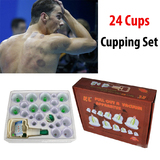 Chinese Vacuum Cupping Set 24pcs  Massage Therapy Suction Acupuncture