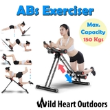 AB bike Training Cruncher Twister Abdominal Workout Exercise 6 Pack Core Gym Fitness