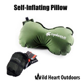 Self-inflating Air Pillow Cushion Outdoor Camping Hiking