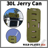 30L Jerry Can Fuel Container Spare Petrol Container Army Green Heavy Duty