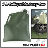 7L Collapsible Jerry Can Fuel Bladder Fuel Petrol Diesel Water Storage Container Tank TPU Fiber-reinforced polyurethane