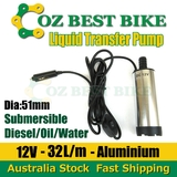 Transfer Pump Submersible 12V Fuel Diesel Water Electric Pump Aluminium