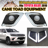 LED DRL Suits TOYOTA Hilux 2016 Daytime Running Light LED Front Lamp