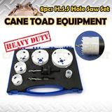 22-83mm H.S.S Bi-Metal Hole Saw Kit 8pc  Tool Set W/Case CUTTING SHEET METAL WOOD PLASTIC