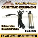 12V DC Tranfer Pump Submersible Fuel Diesel Water Electric Pump Aluminium