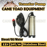 Transfer Pump Fuel Diesel Water 12V Electric Pump Stainless Steel