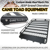 Roof Rack Fits JEEP Grand Cherokee 02/11 On Aluminium Alloy Roof Basket Cage Hydronalium