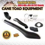 Snorkel Kit Fits ISUZU D-MAX & MU-X 06/2012-Onwards 4WD RHS Air-Intake