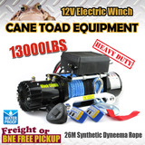Wireless Electric Winch 13000LBS/5897KGS Synthetic Rope ATV 12V 4WD BOAT TRCUK