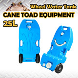 Portable Wheel Water Tank 25L Camping Caravan Storage Motorhome Waste Transport