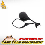 8mm Thread Universal Motorcycle Mirror for ATV Moped Scooter Honda Yamaha Kawasaki