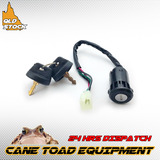 4 Wire Male Key Ignition Switch 50 70 110cc 125cc 135cc ATV Quad Pit Dirt Bike