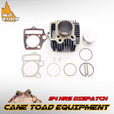 107cc 110cc 52mm ATV DIRT BIKE ENGINE CYLINDER PISTON RING  HEAD GASKET