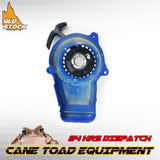 ALLOY BLUE PULL START STARTER 43cc 47cc 49cc POCKET MINI DIRT ATV QUAD