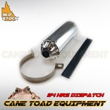 28mm Chrome Muffler Exhaust Pipe Clamp 110cc 125cc 150cc PIT PRO Quad Dirt bike