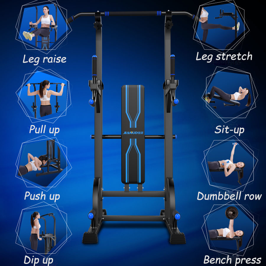 Chin Up Push Pull Dip Fitness Station Exercise Home Gym