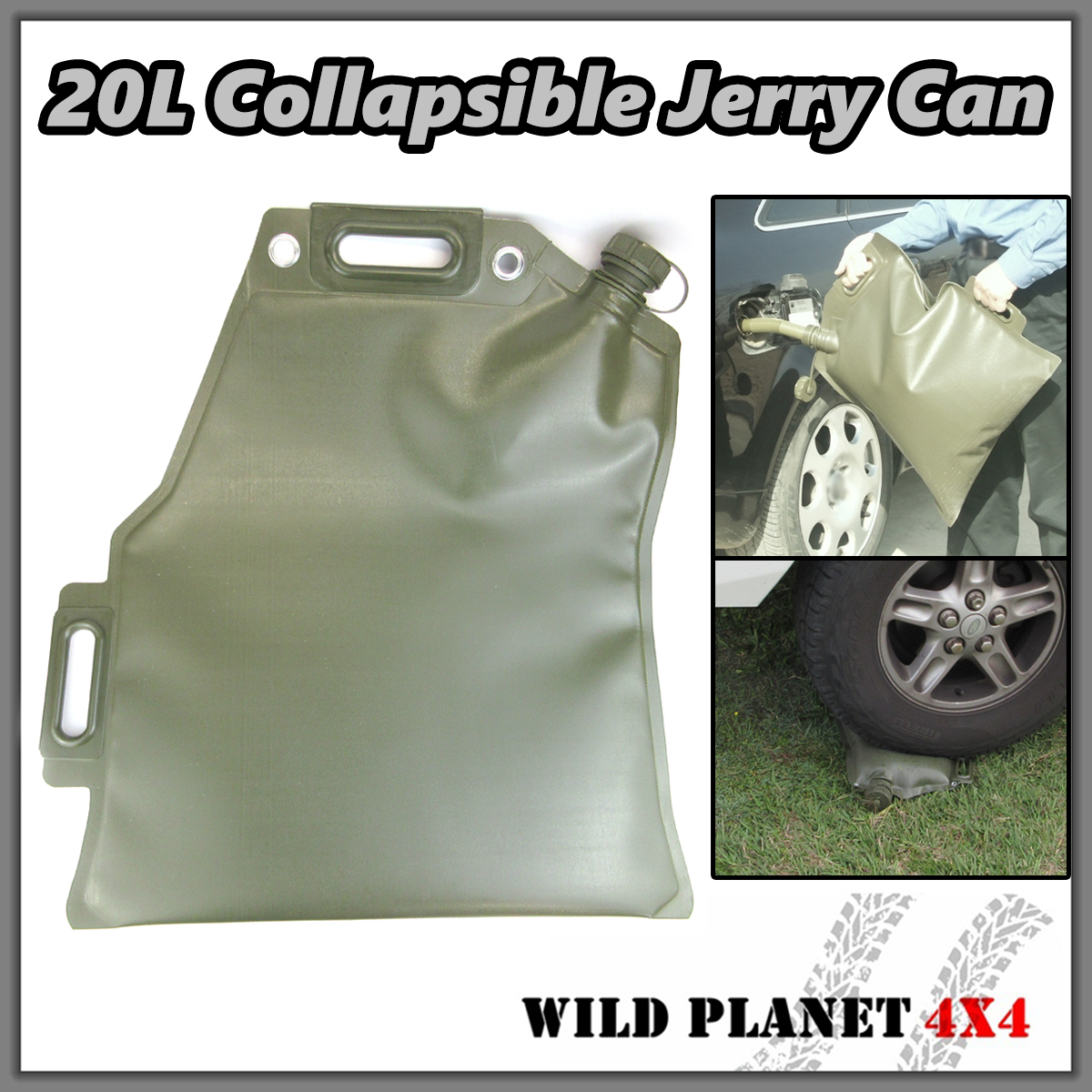 20l Collapsible Jerry Can Fuel Bladder Fuel Petrol Diesel