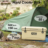 85L Hard Cooler Ice Box Chilly Bin Esky Style Camping Picnic Fishing 2in1 Thermal Container