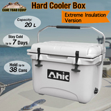 20L Hard Cooler Ice Box Chilly Bin Esky Camping Picnic Fishing 2in1 Thermal Container