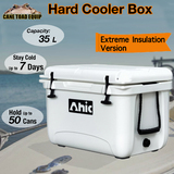 35L Hard Cooler Ice Box Chilly Bin Esky Camping Picnic Fishing 2in1 Thermal Container