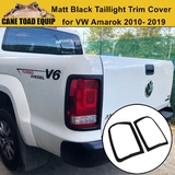 Matt Black Tail Light Cover Trim to suit Volkswagen VW Amarok 2010-2020