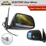 Right Electric Door Mirror Fits TOYOTA Hilux 2005-2011 UTE RHS 2WD 4WD KUN GGN 879100K021