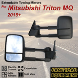 Extendable Towing Mirrors Fits Mitsubishi Triton MQ 2015+