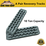 Pair Recovery Tracks 4WD 4x4 ATV Green Offroad Tyre Ladder Caravan Sand Mud Snow
