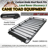 Roof Basket Rack Fits Land Rover Discovery 3&4 Aluminium Alloy Cargo Cage Hydronalium 4X4 4WD