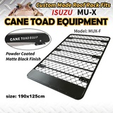 Roof Rack Fits Isuzu MU-X mux Aluminium Powder Coated Low Profile platform Alloy Hydronalium