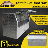 Tool Box Aluminium Truck Storage Large 1.2m with Lock UTE Trailer Truck Heavy Duty Vehicle