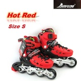NEW JF239 QUALITY ADJUSTABLE INLINE ROLLER BLADERS SKATES +CARRY BAG Kids 12-2 R