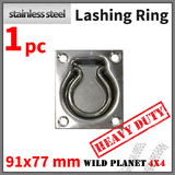LASHING RING Stainless Steel TIE DOWN POINT ANCHOR UTE TRAILER