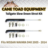 2xTAILGATE STRUT KIT Fits NISSAN NAVARA D40 2005 - 2014 REAR GAS SLOW DOWN STRUT DAMPER