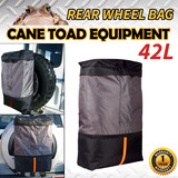 REAR WHEEL BAG RUBBISH BIN STRAP RECOVERY STORAGE WINCH SPARE TYRE 4X4 KIT