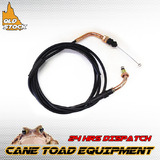 2270mm 115mm Throttle Cable GY6 150cc 200 250cc Go kart ATV Moped Dune Buggy