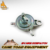 Fuel Pump Tap Switch 3 Port For GY6 50cc 125cc 150cc ATV Moped Scooter Go kart