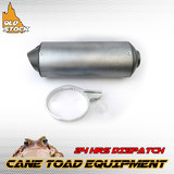 28mm Alloy Exhaust Muffler Clamp 110cc 125cc 140cc 150cc Pit Pro Dirt ATV Quad