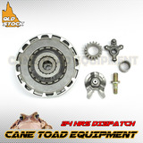 17T CLUTCH ASSEMBLY SEMI AUTOMATIC 90 110cc 125cc ATV QUAD PIT DIRT BIKE BUGGY
